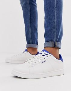 Кроссовки с контрастным задником Jack & Jones-Белый