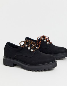 Туфли на массивной плоской подошве Park Lane-Черный