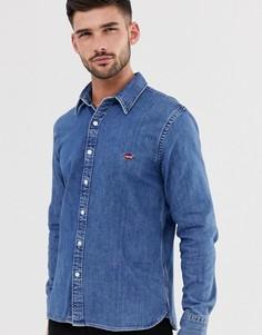 Выбеленная джинсовая рубашка с логотипом Levis-Синий Levis®