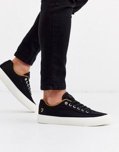 Черные кроссовки на толстой подошве Farah-Черный