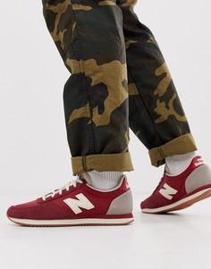 Красные кроссовки New Balance 220-Красный