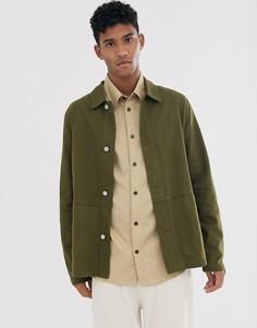 Куртка цвета хаки ASOS DESIGN-Зеленый