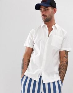 Рубашка с короткими рукавами Bellfield-Белый