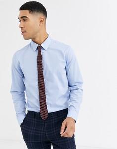Оксфордская рубашка с длинными рукавами Rudie-Синий