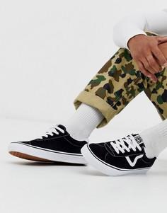 Черные кроссовки Vans Sport-Черный