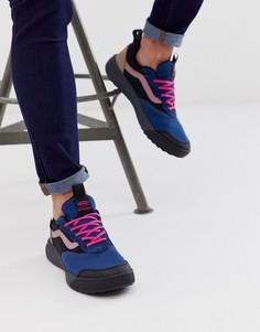 Кроссовки в стиле колор блок Vans UltraRange-Черный