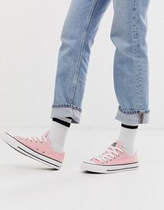 Розовые мягкие кеды Converse Chuck Taylor All Star Ox-Розовый