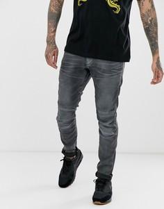 Серые джинсы скинни G-Star Elwood-Серый