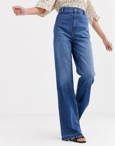 Расклешенные джинсы Free People - Mindy rigid-Темно-синий