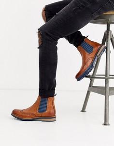 Кожаные ботинки челси Silver Street-Светло-коричневый