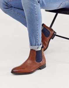 Светло-коричневые кожаные ботинки челси Ted Baker travic-Светло-коричневый