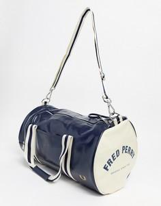 Классическая темно-синяя сумка Fred Perry-Темно-синий