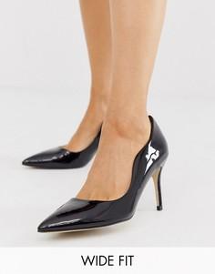Туфли-лодочки для широкой стопы Miss KG-Черный