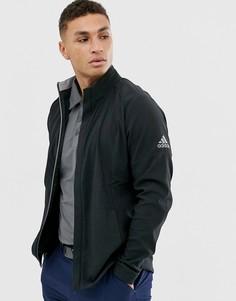 Черная куртка adidas Golf Softshell-Черный