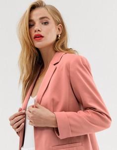 Розовый блейзер Miss Selfridge