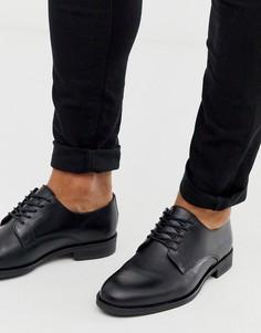 Черные дерби Selected Homme-Черный