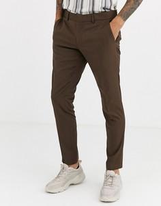 Облегающие брюки Esprit-Светло-коричневый