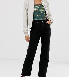 Черные прямые джинсы из органического хлопка Monki Imko-Черный