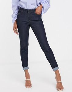 Темно-синие моделирующие джинсы скинни Vero Moda-Синий