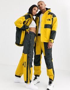 Желто-серые брюки с леопардовым принтом The North Face 94 Rage-Желтый