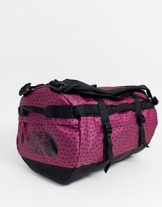 Розовая фестивальная небольшая сумка дафл The North Face - Base Camp-Розовый