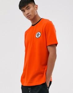 Футболка с короткими рукавами Hummel-Оранжевый