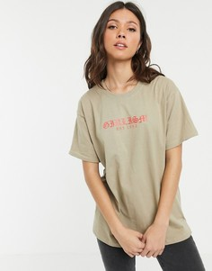 Oversize-футболка с принтом Daisy Street-Белый