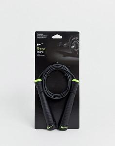 Черная скакалка Nike Training-Черный