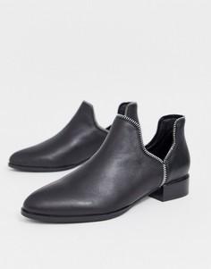 Кожаные ботинки Senso-Черный
