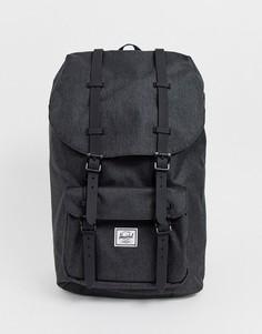 Черный рюкзак объемом 25 л с отделкой Herschel Supply Co Little America