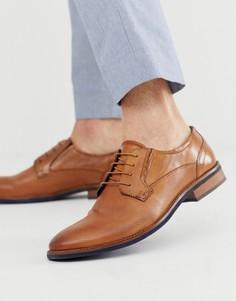Светло-коричневые кожаные туфли Silver Street-Светло-коричневый