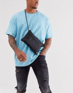 Черная нейлоновая сумка на плечо Farah-Черный