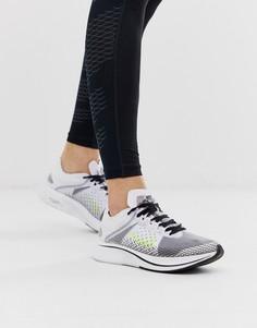 Белые кроссовки Nike Running Zoom Fly SP-Белый