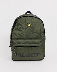 Уплотненный рюкзак Lyle & Scott-Зеленый