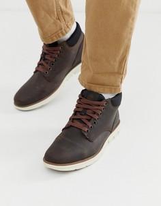 Коричневые ботинки чукка Timberland bradstreet-Коричневый