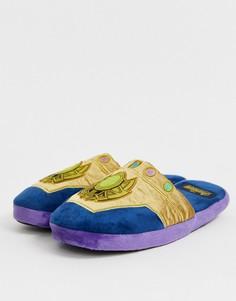 """Тапочки с дизайном \Thanos Avengers\"""" Fizz Marvel-Фиолетовый"""