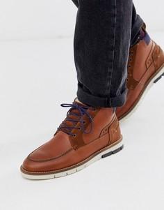 Светло-коричневые кожаные походные ботинки Silver Street-Светло-коричневый