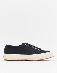 Черные классические парусиновые кроссовки Superga 2750-Черный