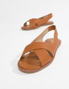 Летние туфли на плоской подошве Aldo-Светло-коричневый