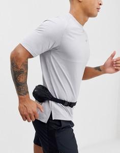 Черная маленькая сумка-кошелек на пояс Nike Running-Черный
