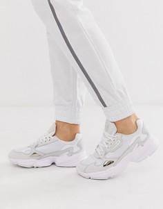 Белые кроссовки adidas Originals Falcon-Белый
