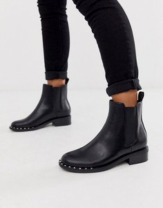 Черные ботинки челси с заклепками RAID - Vivian-Черный