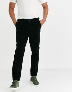 Темно-серые вельветовые брюки Selected Homme-Серый