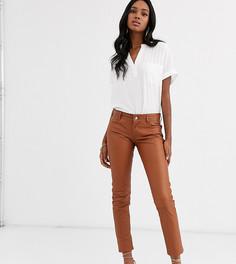 Зауженные брюки Lab Leather-Коричневый