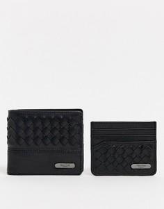 Бумажник и кредитница Dune Nicholas-Коричневый