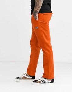 Оранжевые вельветовые брюки HUF 1993 Easy-Оранжевый