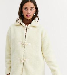 """Флисовая куртка с пуговицами \моржовый клык\"""" Daisy Street-Белый"""