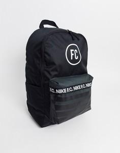 Черный рюкзак Nike F.C.