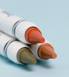 Три косметических карандаша Crayola - Карандаши для губ, щек и лица-Мульти