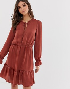 Свободное платье Vero Moda-Мульти